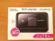 Продам мобильный Wi-Fi роутер ZTE MF910L 4G