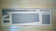 Продам новую клавиатуру проводную «Defender» HB-520 USB