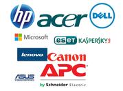 Поставка оборудования НР,  DELL,  Asus,  Acer,  APC,   Lenovo,  Canon и др.